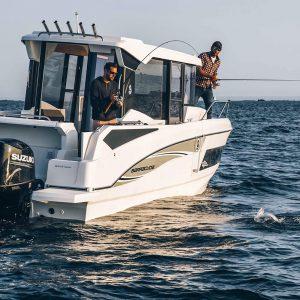 barche Beneteau motore fuoribordo: Barracuda 9