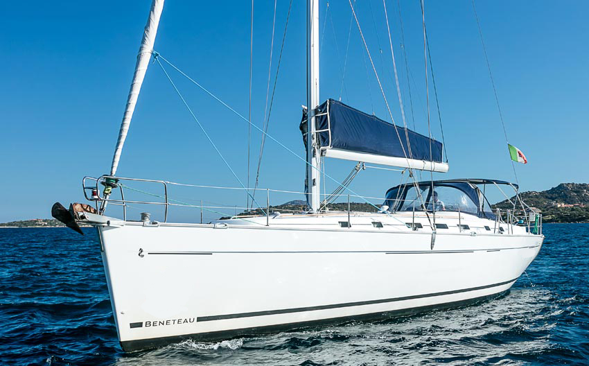 Beneteau Cyclades 50.5 vela usata Sardegna