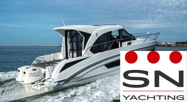 barche Beneteau motore fuoribordo: Antares 9