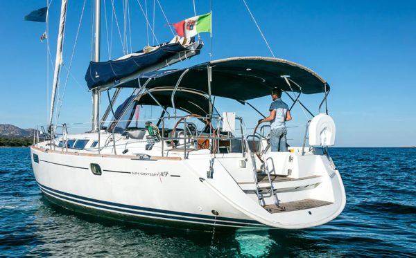 Sun Odyssey 49i usato vela vendita in Sardegna