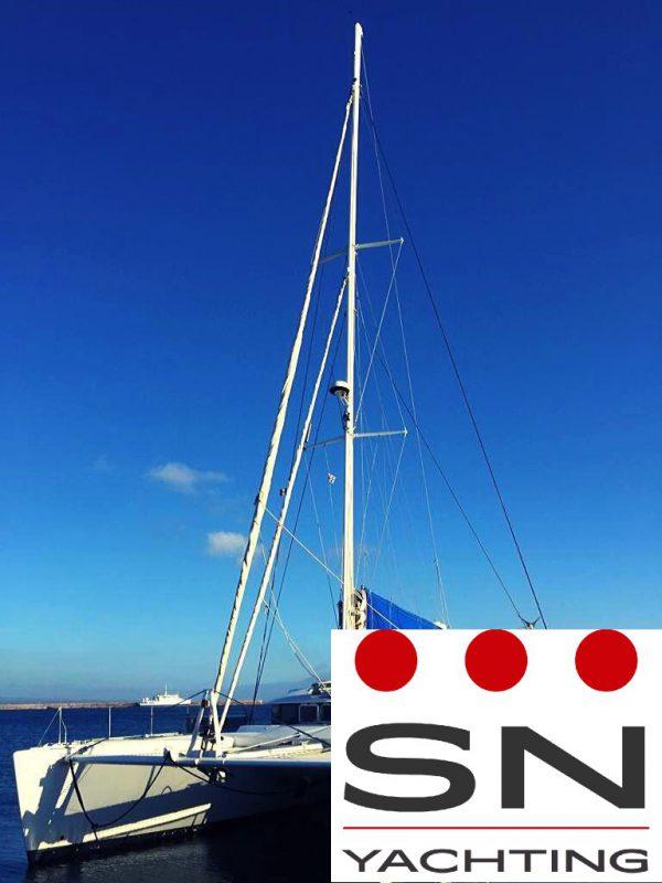 Catamarano Lagoon 570 usato Sardegna