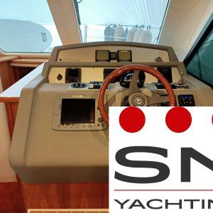 Barca a motore 12 metri usata Sardegna: Riviera 38 T-Top Fly