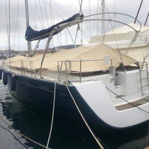 Barche a vela usate 16 metri Sardegna: Oceanis 54