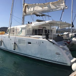 Catamarani usati vendita: Lagoon 450